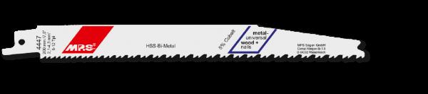 5x MPS Säbelsägeblatt Länge 205 mm