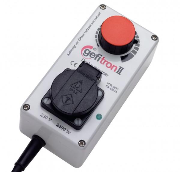 Elektronischer Drehzahlregler - 230 V bis 2400 W