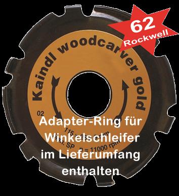 Kaindl Woodcarver Gold - Ø115 mm