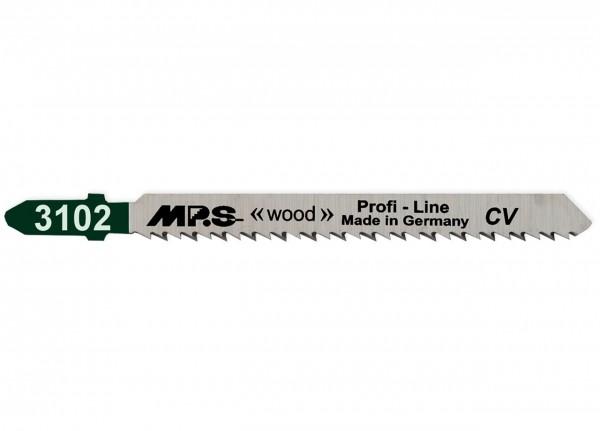 MPS Stichsägeblatt 3102 für Holz - T-Schaft