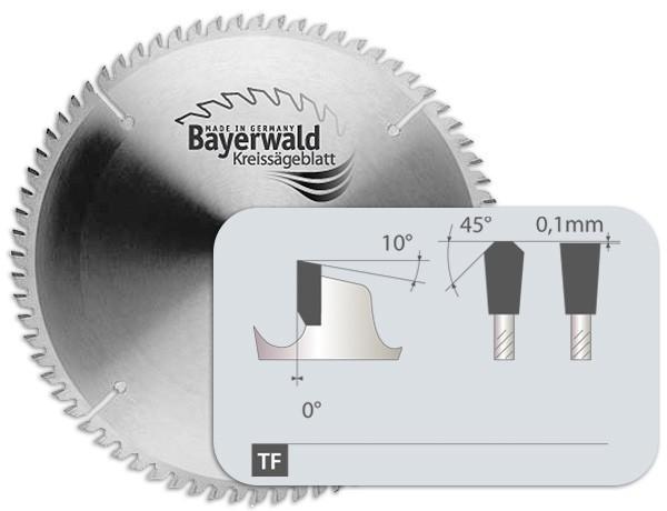 Bayerwald Werkzeuge HM Kreissägeblatt - 400 x 3/2.5 x 35 Z120 TF