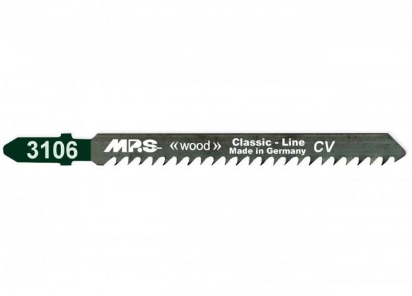 MPS Stichsägeblatt 3106 für Holz - T-Schaft