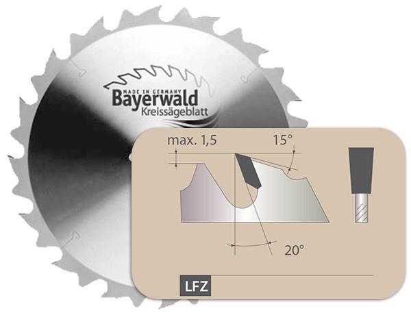 HM Kreissägeblatt - Ø 650 mm x 4,2 mm x 35 mm | Z=40 LFZ II