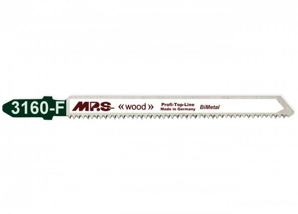 MPS Stichsägeblatt 3160-F für Holz - T-Schaft