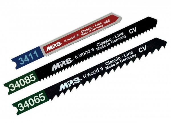 MPS Stichsägeblatt-Set für Holz & Metall (3 teilig) - U-Schaft