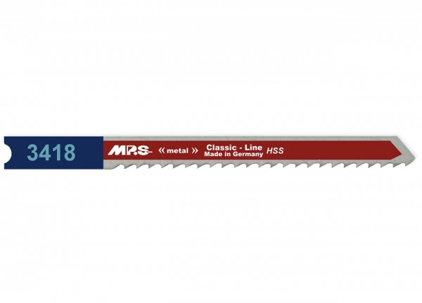 MPS Stichsägeblatt 3418 für Metall - Universalschaft
