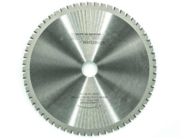 Multifunktionssägeblatt - Ø 254 mm x 2,4 mm x 30 mm | WWF (60 Zähne)