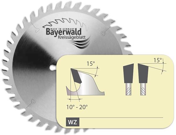 HM Dünnschnitt Kreissägeblatt - Zahnform Wechselzahn