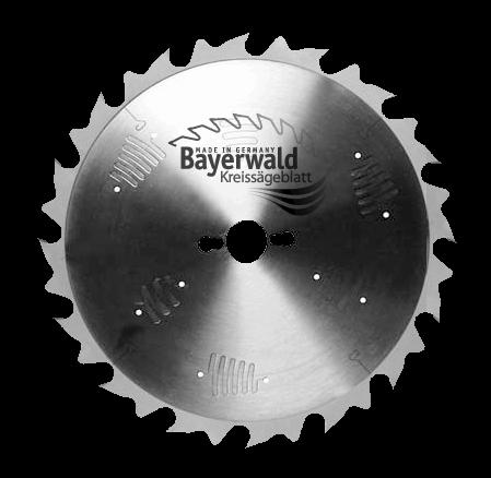 HM Kreissägeblatt - Ø 315 mm x 3,2 mm x 30 mm | Z=24 S-LWZ