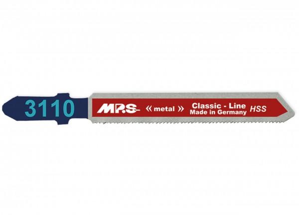 MPS Stichsägeblatt 3110 für Metall - T-Schaft
