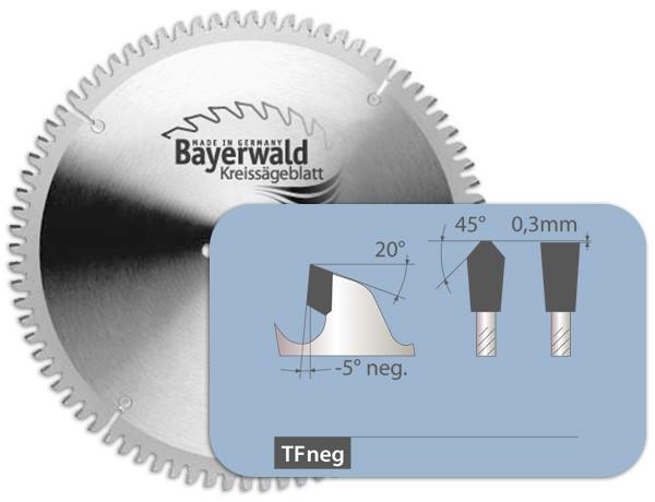 HM Kreissägeblatt - Ø 160 mm x 1,8 mm x 20 mm | Z=56 TF positiv