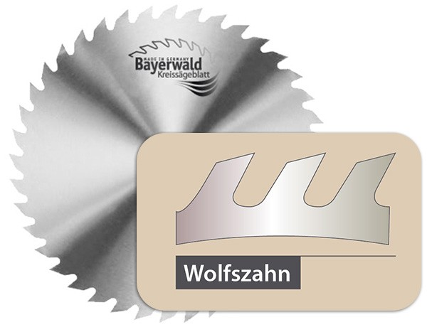 CS Kreissägeblatt - Ø 300 mm x 1,6 mm x 30 mm | Z=56 KV - A