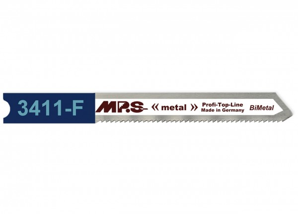 MPS Stichsägeblatt 3411-F für Metall - Universalschaft