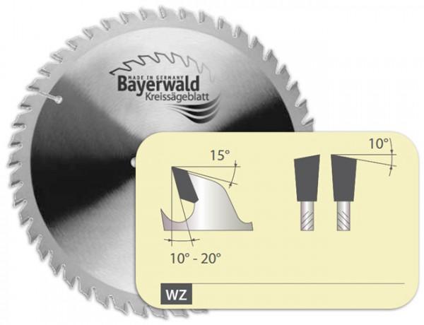 HM Kreissägeblatt - Ø 134 mm x 2,6 mm x 20 mm | Z=36 WZ