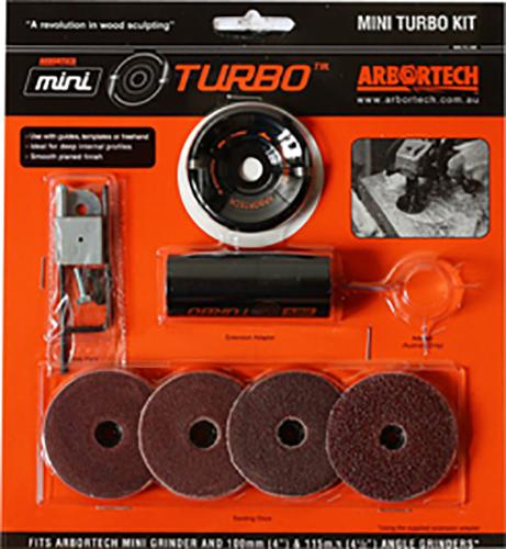 Arbortech Mini Turbo Kit - FG.510 | Für Winkelschleifer (M5 Version)