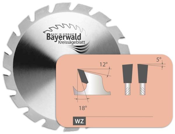 HM Bausäge Extrem - Sägeblatt mit Wechselzahn