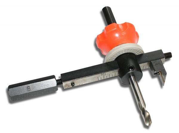 Falke Metall-Kreisschneider FKS-L (verstellbare Lochsäge)