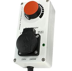 Elektronischer Drehzahlregler - bis 2400 W